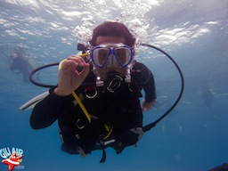 Diving in gili air with gili air divers